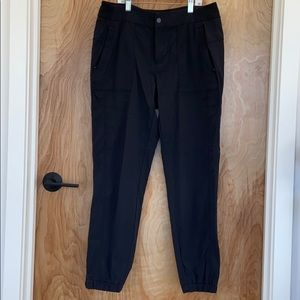 Athleta joggers black pants size 10 EUC